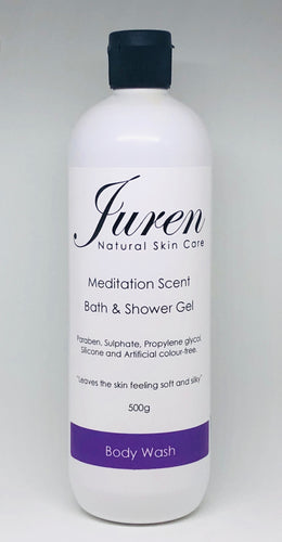 Juren Meditation Scent Bath and Shower Gel 500g