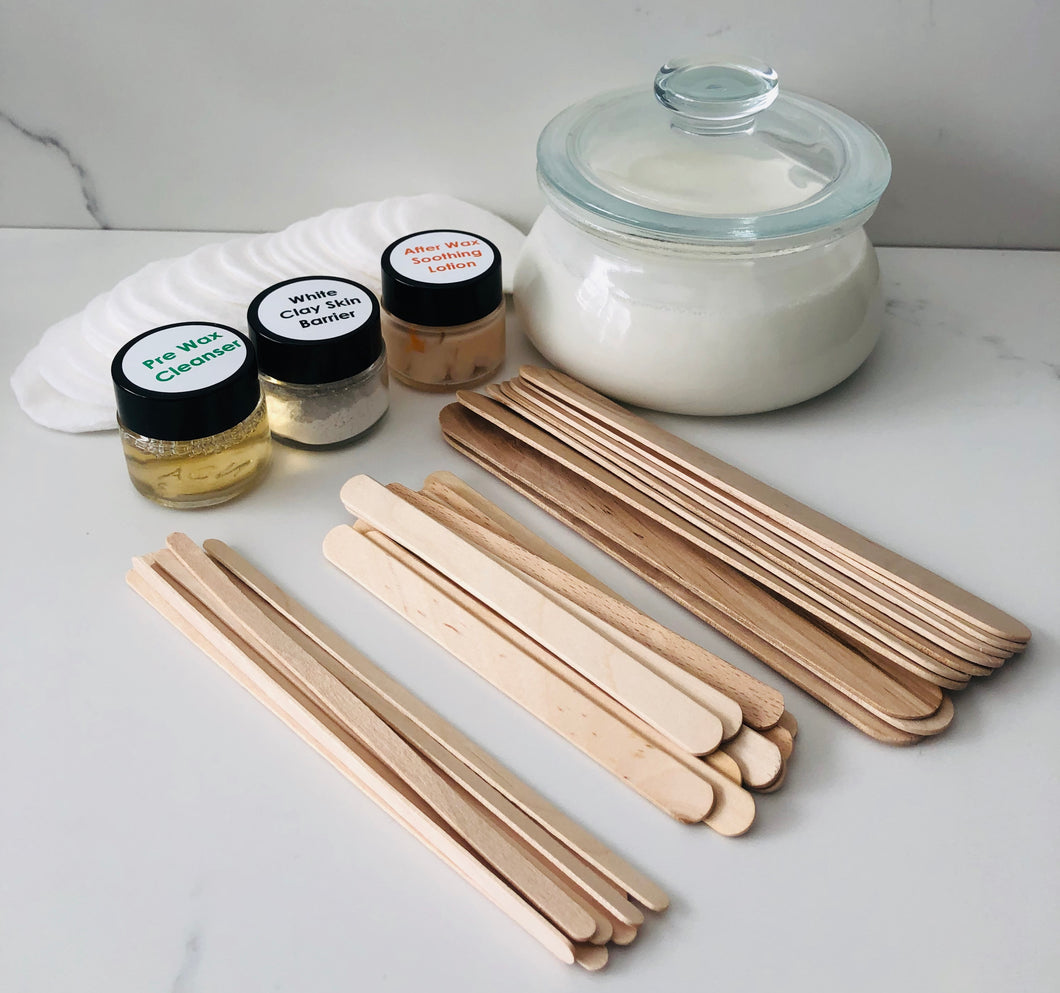 Large Home Hot Wax Kit - Face, Bikini & Underarms
