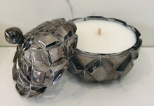 Crystal Glass Eco Soy Candle - Graphite