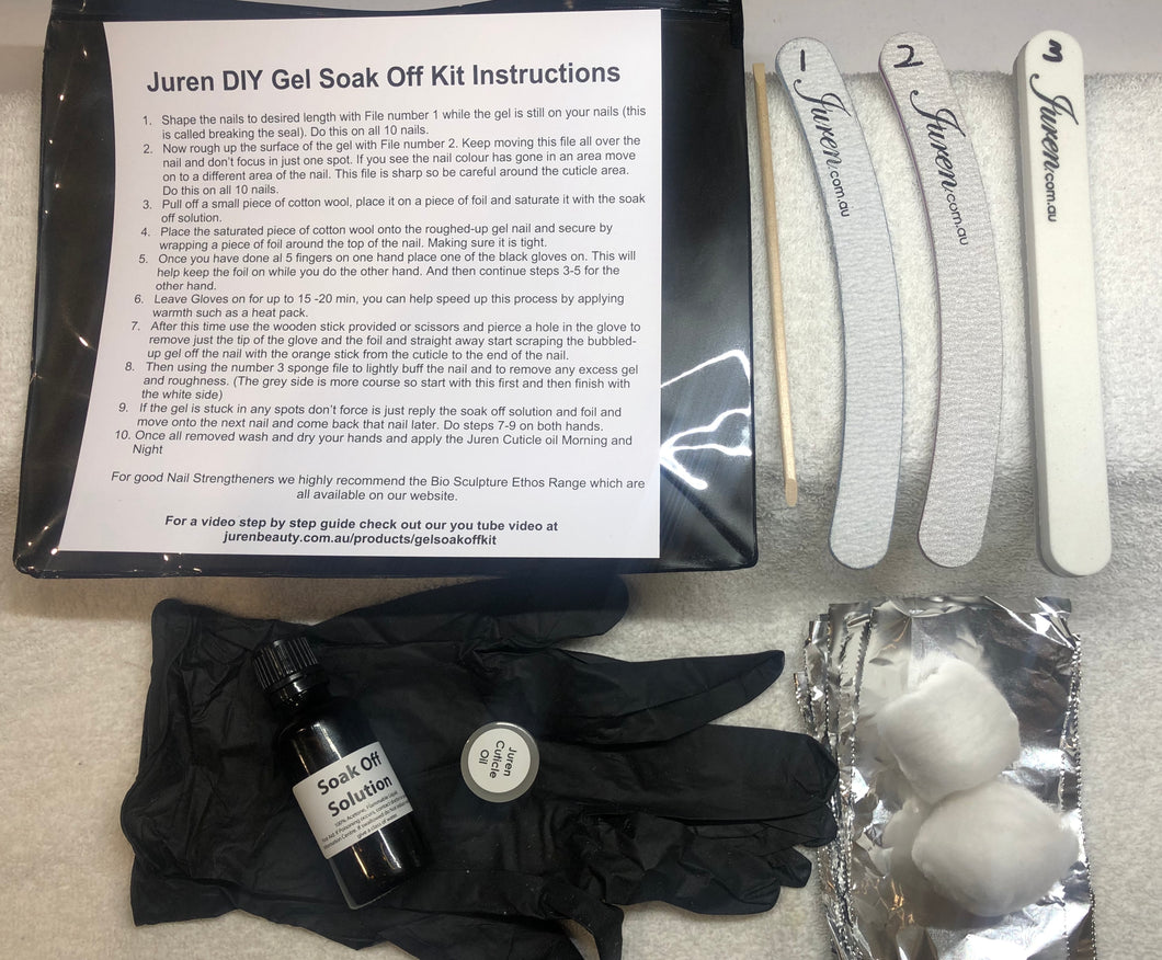 Juren DIY Gel Soak Off Kit