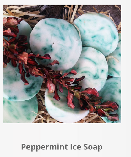 Peppermint Ice Soap