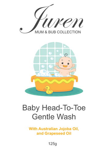 Baby Head-To-Toe Gentle Wash