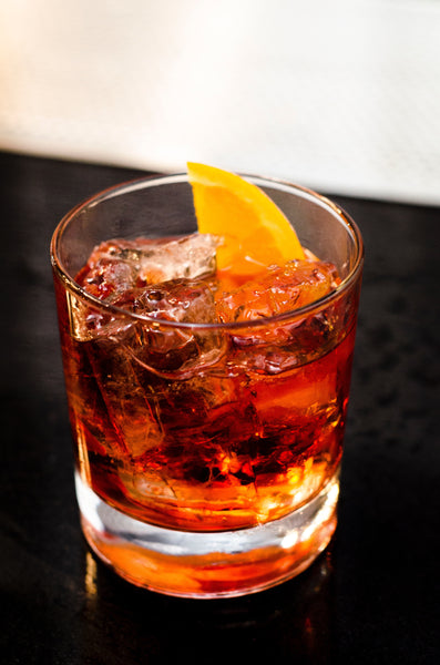 The Manchester Old Old Fashioned - a take on and old classic...