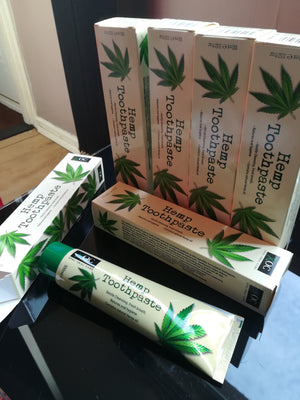 Hemp Toothpaste (Does not contain fluoride) - and Hemp flowers UK