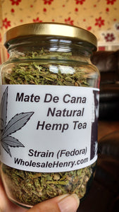 Mate De Cana - Hemp Tea - and Hemp flowers UK
