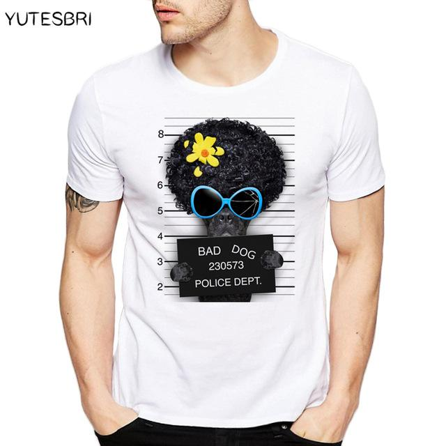 New brand clothing Summer Fashion French Bulldog Design T Shirt Men's High Quality dog Tops Hipster Tees funny t-shirt for men - and Hemp flowers UK