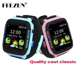 FREZEN Smart Watches for Kids Children LBS Watch for Apple Android Phone Smart Baby Watch Smartwatch Children Smart Electronics - and Hemp flowers UK