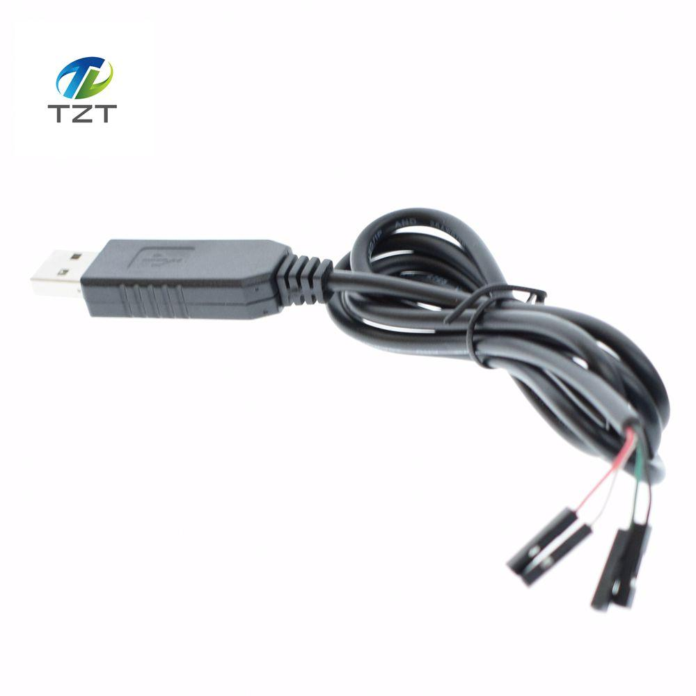 1pcs Smart Electronics PL2303 PL2303HX USB to UART TTL Cable Module 4p 4 pin RS232 Converter Serial Line Support Linux Mac Win7 - and Hemp flowers UK
