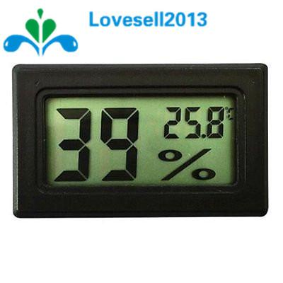 Free Shipping! Black LCD Digital Thermometer Hygrometer Module Indoor Electronic Temperature Humidity Meter - and Hemp flowers UK