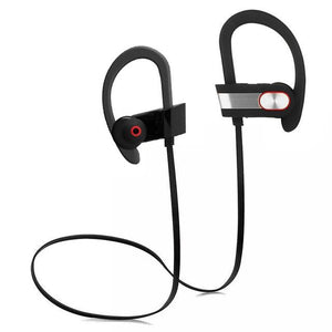 ARYAGO Waterproof Earphone Wireless Neckband Portable Bluetooth Consumer Electronics Sport Headset Support Music Phone Earphone - and Hemp flowers UK