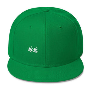 Wool Blend Snapback - and Hemp flowers UK