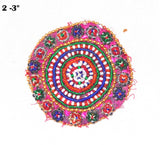 Ethnic Banjara Medallions Patches (5pcs)