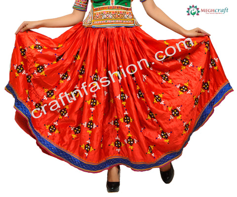 Dandiya Dance Wear Handmade Skirt
