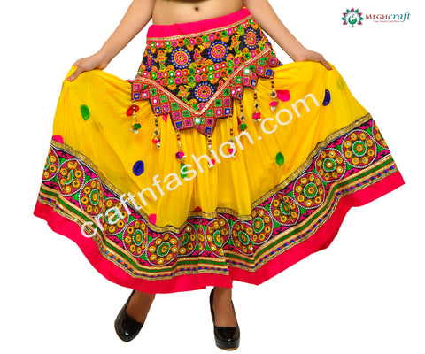 Traditional Gujarati Dance Costume Dress