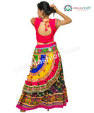 Hippie Banjara Style Embroidered Ghaghra Choli