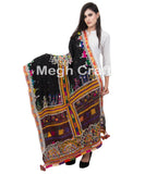 Kutch Tribal Handwork Shawl Dhabri