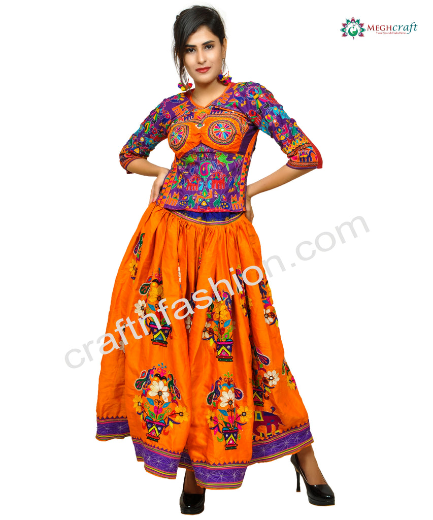 2018 Women's Navratri Fashion Boho Skirt