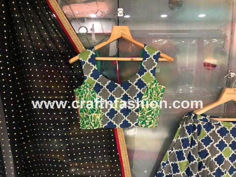 Cotton Traditional Ghaghra Choli-Bandhej Dupatta