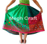 Vintage Rabari Ghagra with Kutch Embroidered.