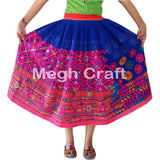 Kutch Embroidered Tribal Style Skirt.