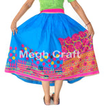 Vintage Traditional  Mirror Work Skirt