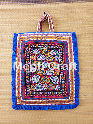 Hand Embroidery  Mirror work Theli Bag