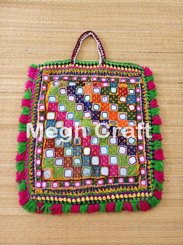 Traditional Mirror Work Theli Bag