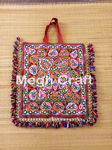 Gujarati  Mirror work Theli Bag