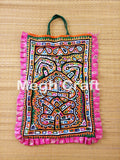 Indian Mirror Embroidery THELI BAG