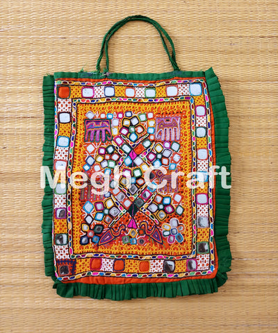 Tribal Kutch Mirror work Theli Bag