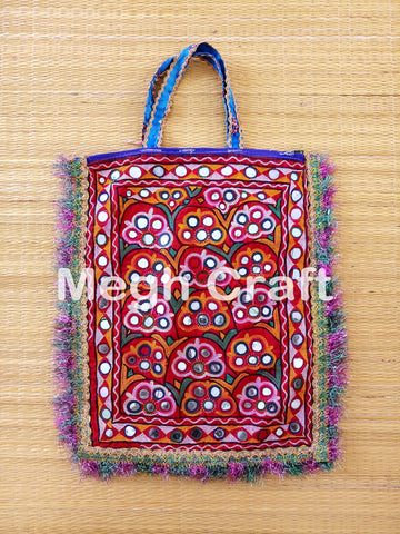 Indian Banjara Mirror work Bag