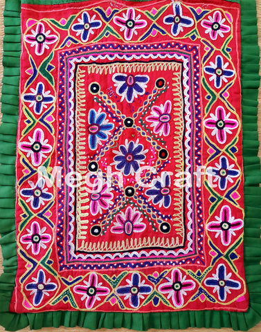 Kutchi mirror work Theli Bag