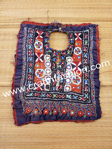 Cotton Handmade Traditional Neck Yoke Patch