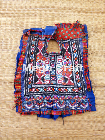 Rabari Mirror Work Gujarati Traditional Yoke