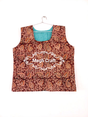 Indo western style  cotton Tank top