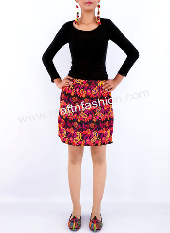 Girls' Fashion Wear Boho Kutch Skirt