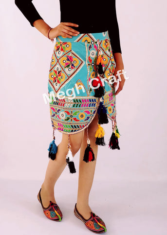 Ethnic Indian Vintage Fabric Skirts