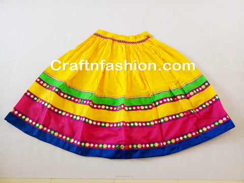 Navratri Mirror Work Lehenga Choli