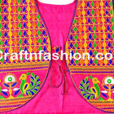 Indian Embroidered Jacket Koti