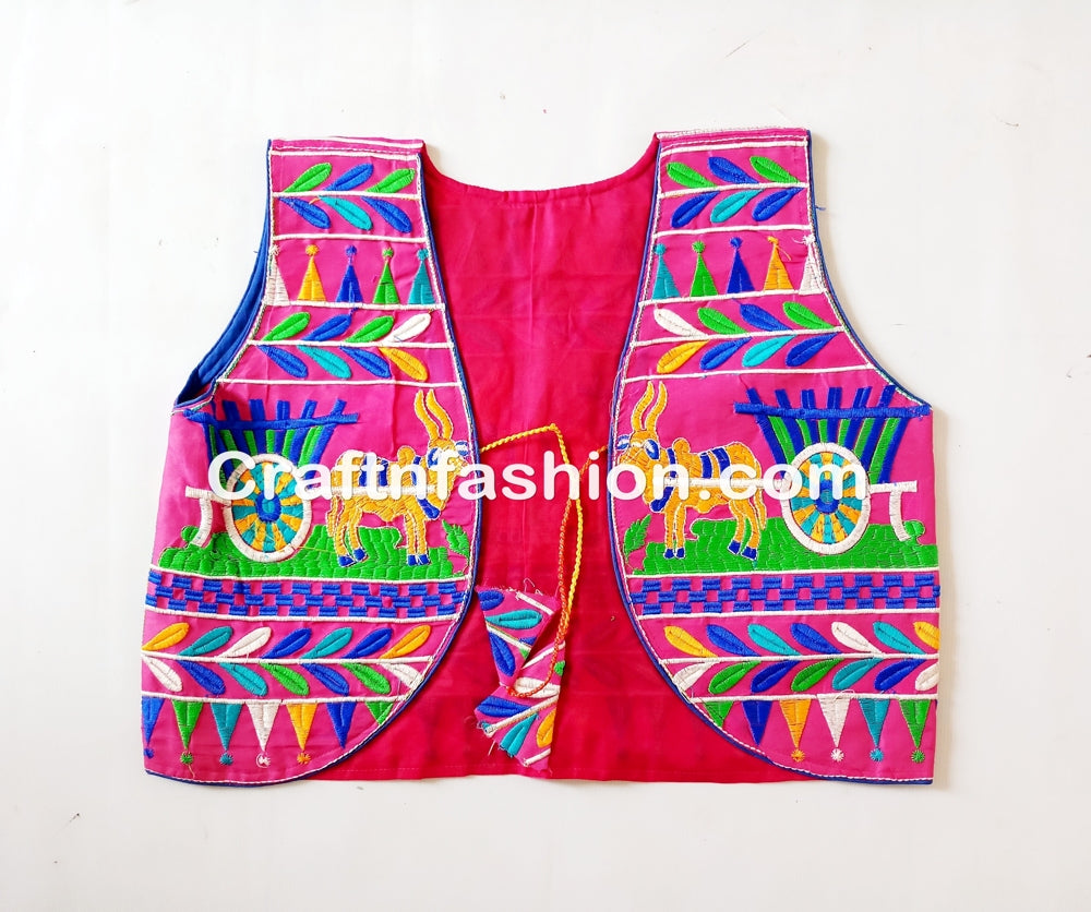 Indian embroidered navratri special jacket