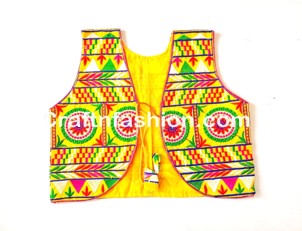Kutch Embroidered Banjara Koti