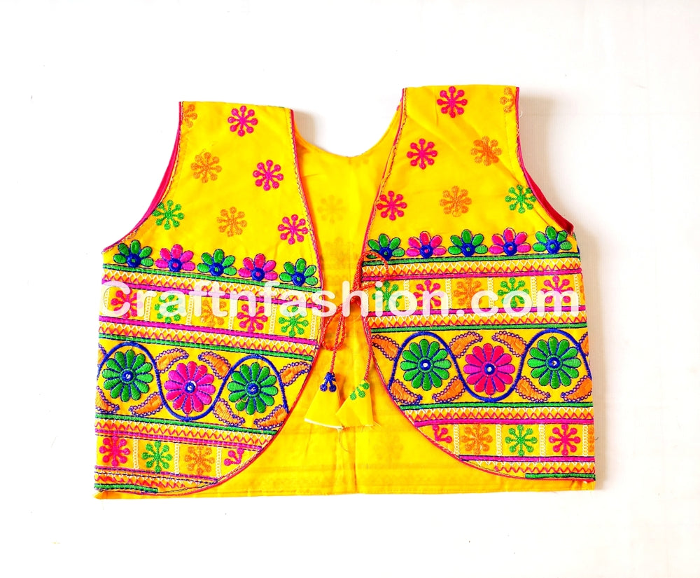 Kutch Work Traditional Koti Jacket For Kurtis