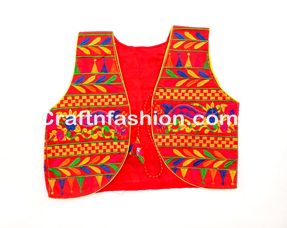 Navratri Jacket Koti Shrug