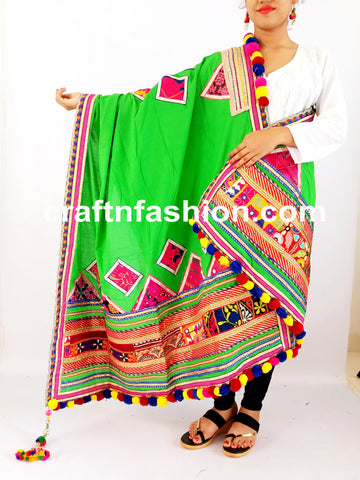 Indian Traditional Navratri Costume Dupatta