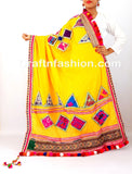 Women'S Cotton Embroidery Dupatta