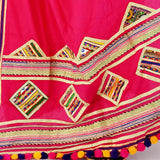 Traditional lace work Dupatta