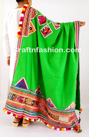 Fashion Wear Banjara Thread Work Dupatta