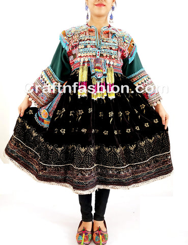 Ethnic Kuchi Banjara boho Hippie Dress