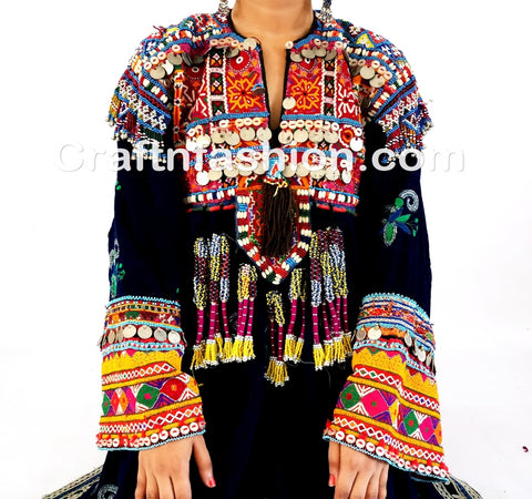 Afghani traditional Wedding Dress