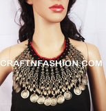 Afghani Ethnic Boho Gypsy Necklace